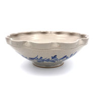Scalloped Ceramic Bowl
