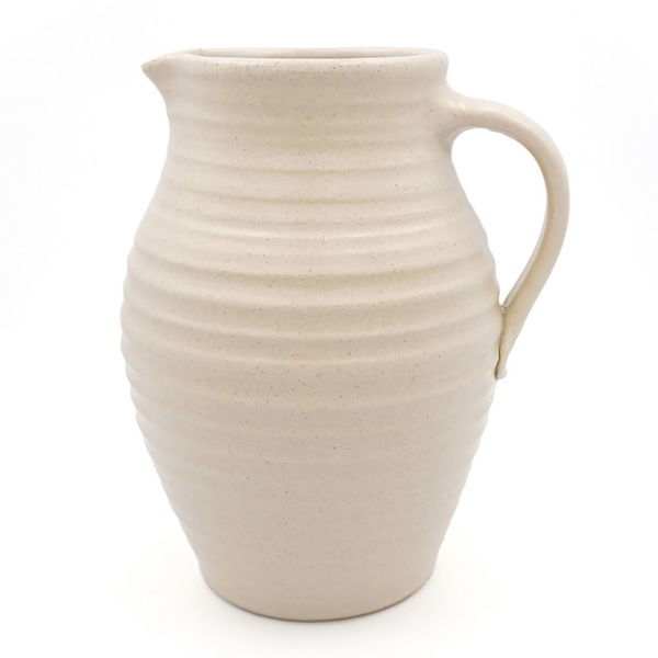 Rowe Pottery Pitcher - White