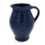 Rowe Pottery Pitcher - Blue
