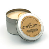 Mineral Point Candle in Tin