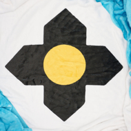 Picture of Flag of Madison, Wisconsin Fleece Blanket