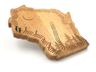 Picture of Wisconsin Cribbage Board