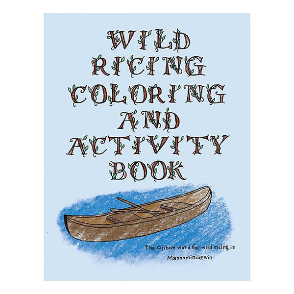 Picture of Wild Ricing Coloring Book