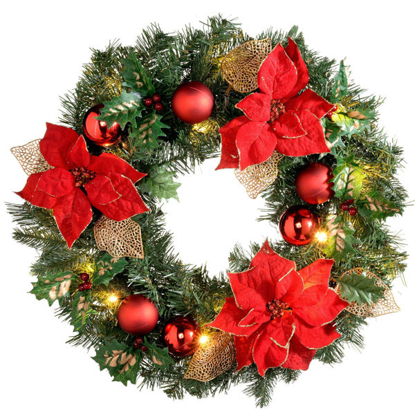 Picture of Holiday Garden Wreaths from Old World Wisconsin