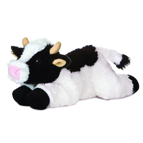 "Picture of Small Cow ""May Bell"" Stuffed Animal"