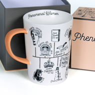 Phenomenal Women Mug - Detail