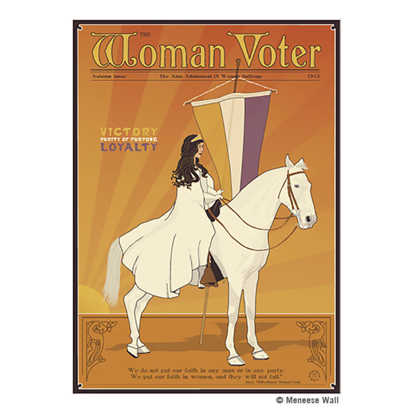 The Woman Voter