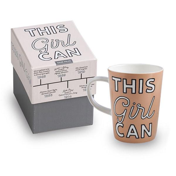 This Girl Can Mug with Box