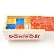 Frank Lloyd Wright Dominoes - Box