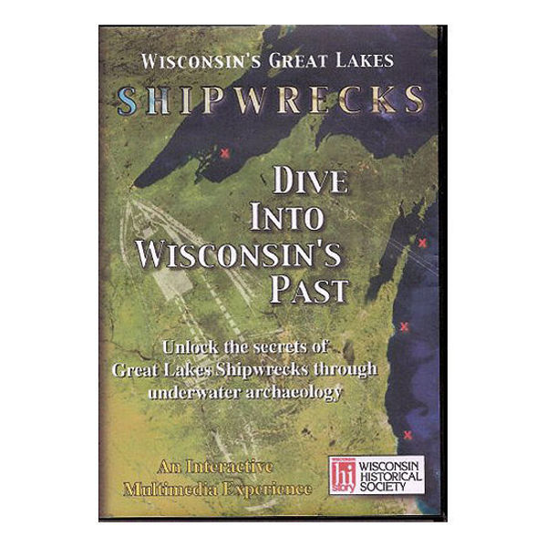 Picture of Dive into Wisconsin's Past: Wisconsin's Great Lakes Shipwrecks (CD-Rom)
