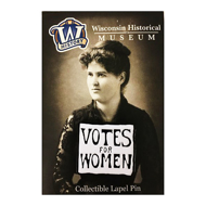 Votes for Women Lapel Pin