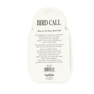 Bird Call - back
