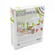 Recycled Paper Beads - back