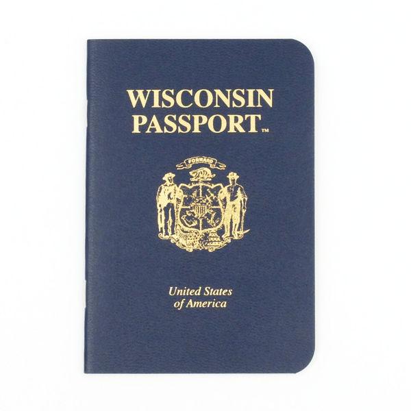 Wisconsin Passport- cover