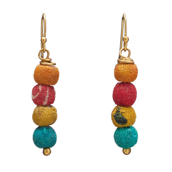 Kantha Quatre Earrings