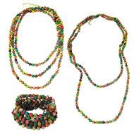 Kantha Bead Long Necklace - 2