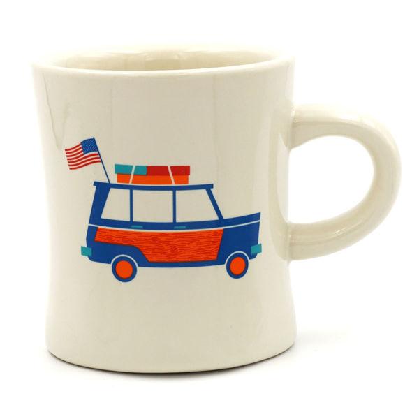 Great American Road Trip Diner Mug