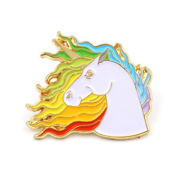 Unicorn Rainbow Pin