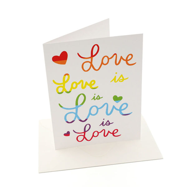 Love is Love is Love Card
