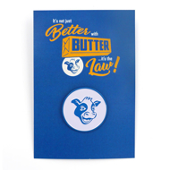 Better with Butter Pin