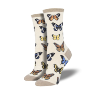 Majestic Butterfly - Ivory Heather