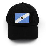 Madison Flag Baseball Cap - black