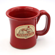 Red Pendarvis Mug