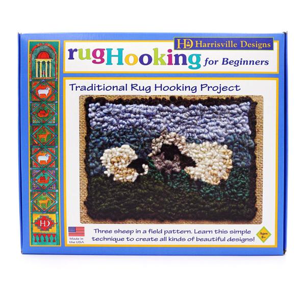 Three Sheep Rug Hooking Kit
