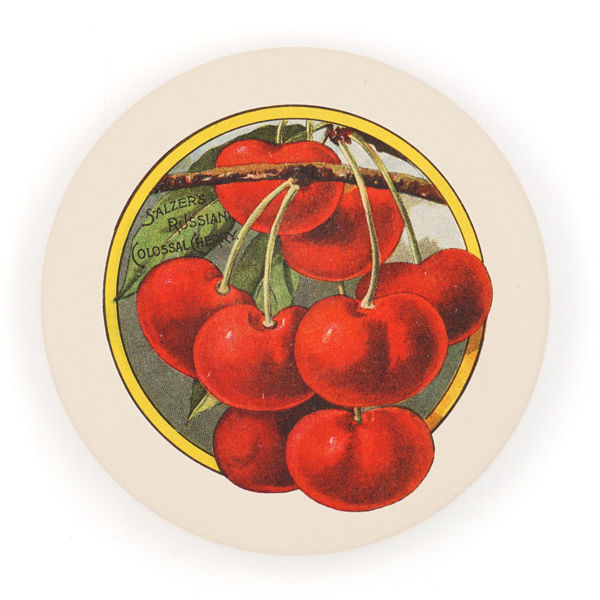 Salzer Seed Co. Cherry Trivet