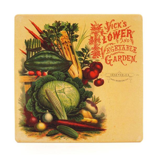 Vick's Flower and Vegetable Trivet