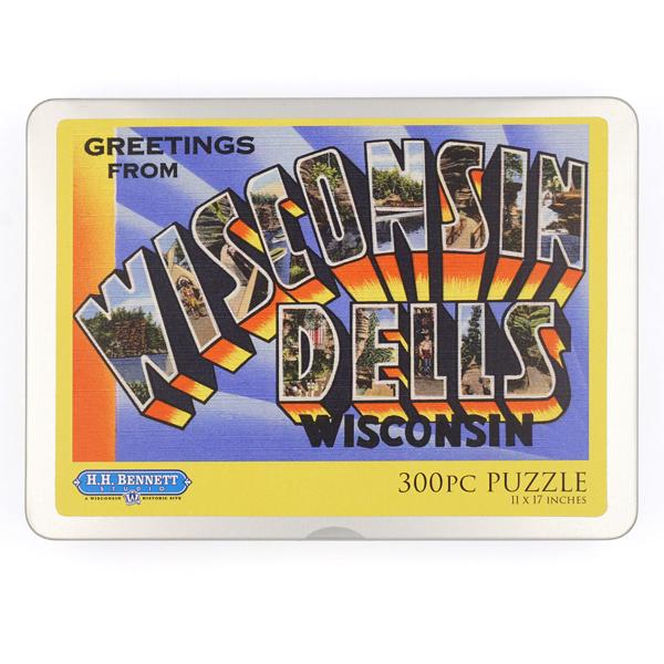 Wisconsin Dells 300 Piece Puzzle