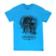 H.H. Bennett Cameraman T-Shirt - Sapphire Blue