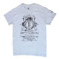 H.H. Bennett Logo T-Shirt - White Marble