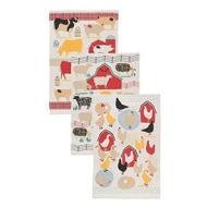 Farm Animal Dish Towel Bundle