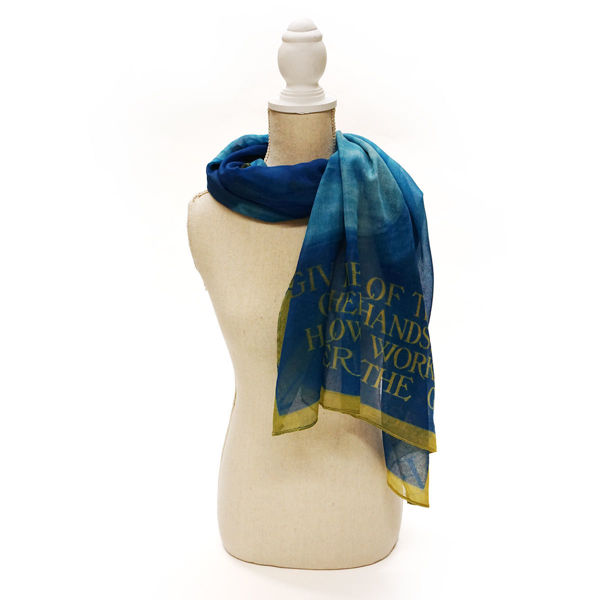 Women's Suffrage Historic Image Polyester Scarf