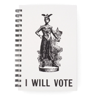 I Will Vote - blank notebook journal