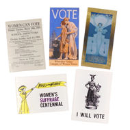 Women's Suffrage Magnets