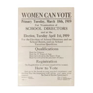 Suffrage Poster Magnet