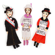Picture of Women's Suffrage Doll Ornament