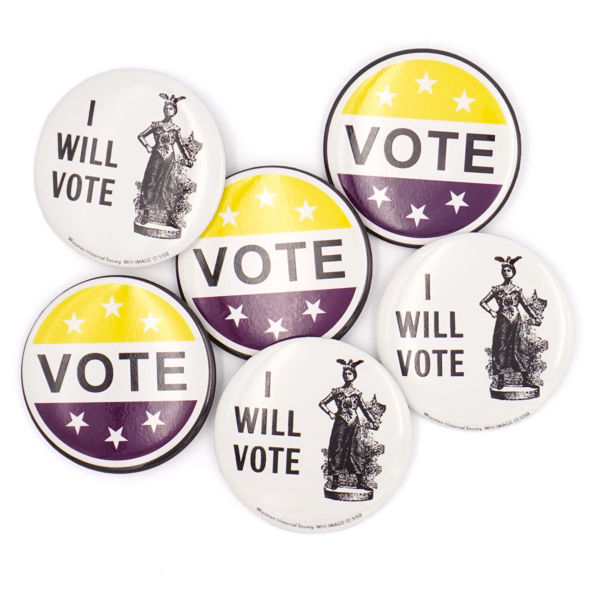 Suffrage Buttons