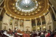 Senate Chamber with Skylight