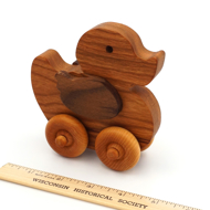 Wood Duck Toy Cherry