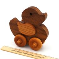 Wood Duck Toy Walnut