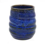 Stemless Stoneware Wine Glasse - Blue