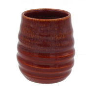 Stemless Stoneware Wine Glasse - Cabernet