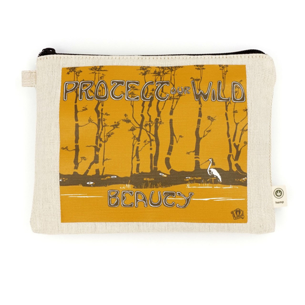 Protect Our Wild Beauty Zip Pouch
