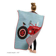Tractor Blanket with Model