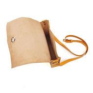 Leather Crossbody Bag Inside