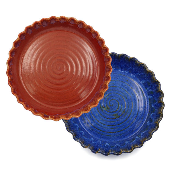 stoneware pie plates