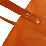 Leather Tote Rivets